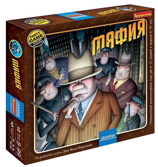 Picture of «Мафия» настольная игра Bondibon