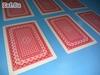 Picture of 100% пластиковые игральные карты, 54 листа, красная рубашка