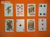 Picture of 100% пластиковые игральные карты, 54 листа, чёрная рубашка