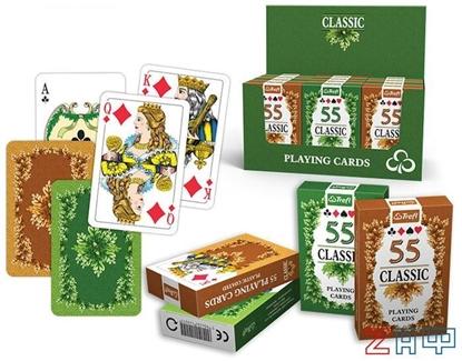 Изображение Игральные карты — Классика (55 карт), Трефл