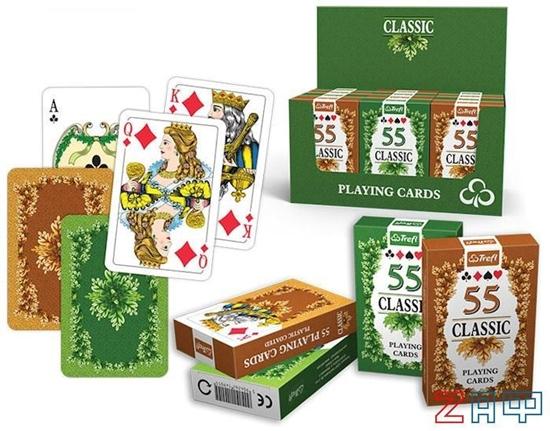 Picture of Игральные карты — Классика (55 карт), Трефл