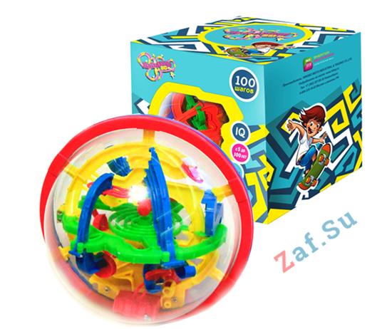 Picture of 3D шар головоломка Лабиринто 100 шагов