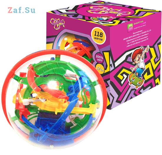 Picture of 3D шар головоломка Лабиринто 118 шагов