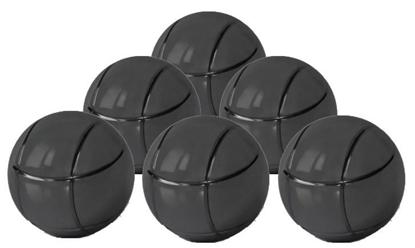 Picture of Петанк, чёрный, 6 шаров