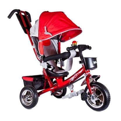 Изображение Велосипед Zilmer «Бронз Люкс» красный