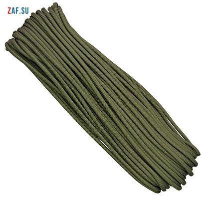 Изображение Паракорд, однотонный, оливково-зелёный (3,5 мм), 30 метров