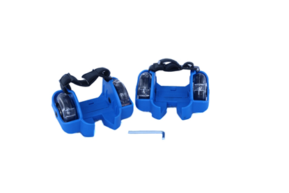 Picture of Ролики-накладки Zilmer «Экстрим» мигающие, сине-черный