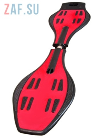 Изображение Двухколесный Скейт — Waveboard Street Hit, красный