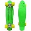 Picture of Скейт Cruiser Board, PRO ABEC 9, зеленый с желтыми колесами