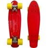 Picture of Скейт Cruiser Board, PRO ABEC 9, красный с желтыми колесами