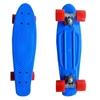 Изображение Скейт Cruiser Board, PRO ABEC 9, синий с красными колесами