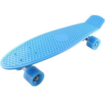 Picture of Скейт Cruiser Board, PRO ABEC 9, синий с синими колесами