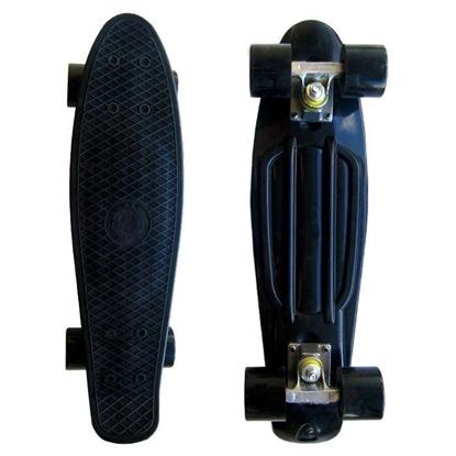 Picture of Скейт Cruiser Board, PRO ABEC 9, черный с черными колесами