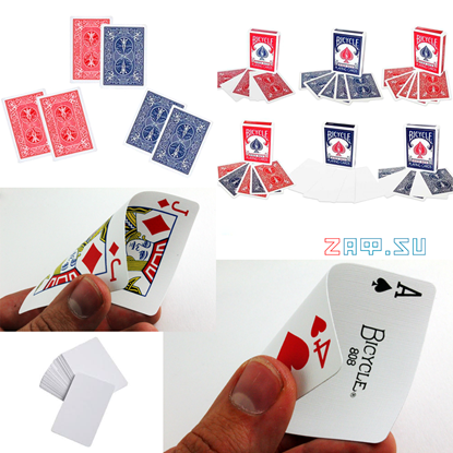 Picture of Карманный набор самых нужных специальных карт для фокусов