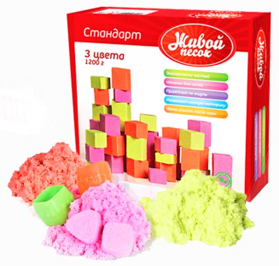 Picture of Живой песок «Стандарт 3 цвета» 1, 200 г