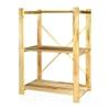 Изображение Стеллаж деревянный 96×75×30 см, 3 полки