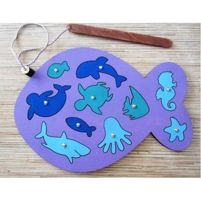 Изображение Игра с магнитами «Рыбалка»