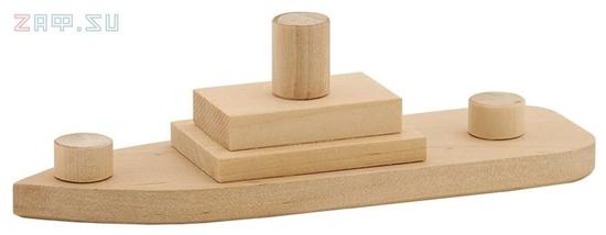 Picture of Модель для творчества «Кораблик»