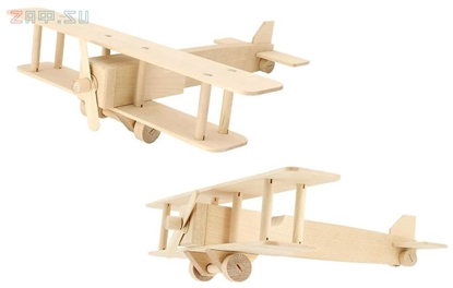 Изображение Модель для творчества «Самолет биплан»