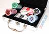 Изображение Покерный набор на 100 фишек, 11,5 грамм.