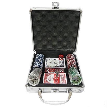 Изображение Набор для покера Royal Flush GL на 100 фишек (в алюминиевом кейсе)
