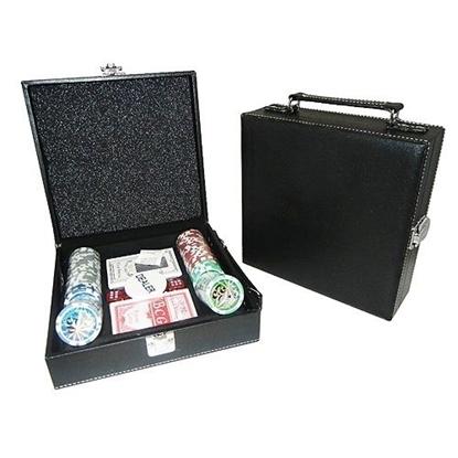Picture of Набор для покера Royal Flush GL на 100 фишек (в черном кожаном кейсе)
