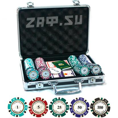 Picture of Премиум набор для покера на 200 фишек — NIGHTMAN 200