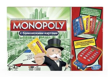 Picture of Настольная игра Монополия с банковскими карточками