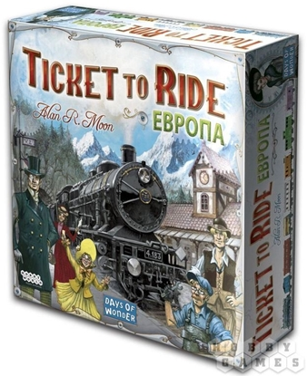 Изображение Настольная игра: Ticket to Ride: Европа (3-е рус. изд.)
