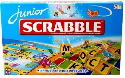 """Изображение Скрэббл """"Джуниор"""" Scrabble Junior"""