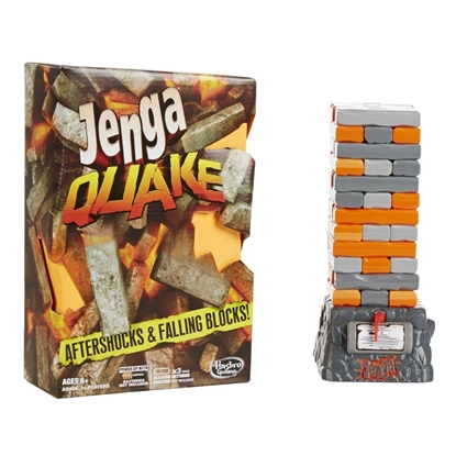 Изображение Настольная игра Дженга Квейк Jenga Quake от Hasbro