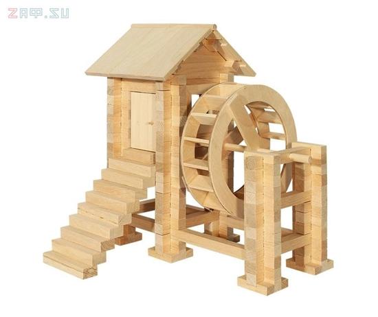 Picture of Конструктор из дерева «Водяная мельница»