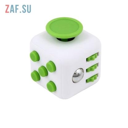 Кубик антистресс Fidget cube (зеленый)