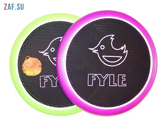 Изображение Набор для игры «FYLE Диск Биг» (Огоспорт), 40 см, зелено-фиолетовый