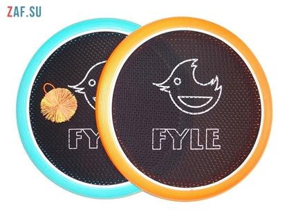 Изображение Набор для игры «FYLE Диск Биг» (Огоспорт), 40 см, оранжево-голубой