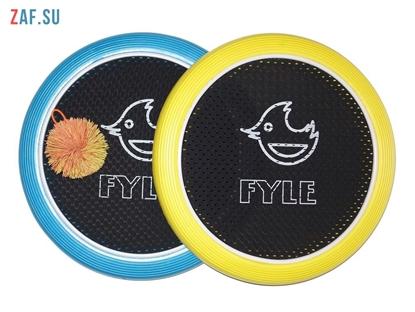 Picture of Набор для игры «FYLE Диск Стандарт» (Огоспорт), 30 см, желто-синий