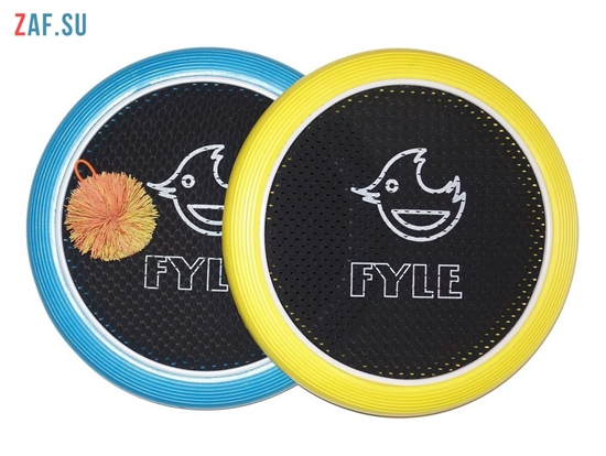 Изображение Набор для игры «FYLE Диск Стандарт» (Огоспорт), 30 см, желто-синий