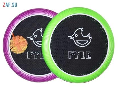 Picture of Набор для игры «FYLE Диск Стандарт» (Огоспорт), 30 см, зелено-фиолетовый
