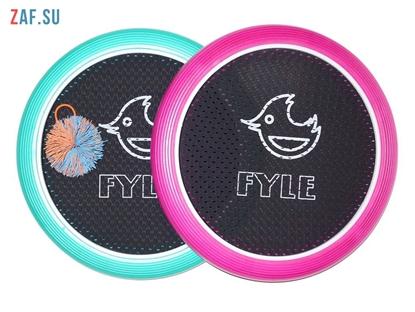 Picture of Набор для игры «FYLE Диск Стандарт» (Огоспорт), 30 см, розово-мятный