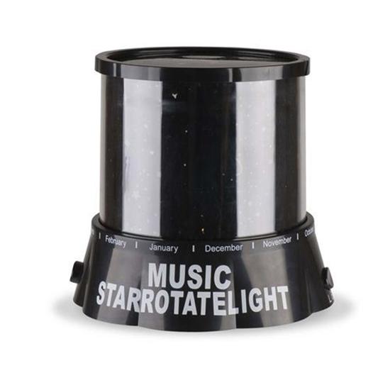 Изображение Ночник-проектор «Звездное Небо» Star Rotate Light Music (вращающийся, музыкальный)