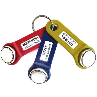 Комплект из 3-ёх универсальных ключей для самых популярных домофонов Metakom, Vizit, Cyfral и др.