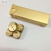 Металлические игральные кости с кейсом, 6 граней, золото