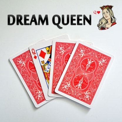 """Ментальный карточный фокус с 4 дамами """"Сонная Дама"""" (Dream Queen)"""