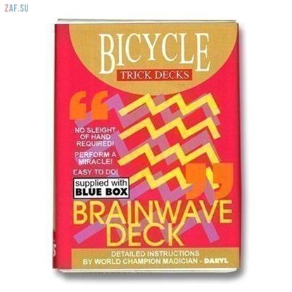 Трюковая колода Brainwave Deck (Bicycle)