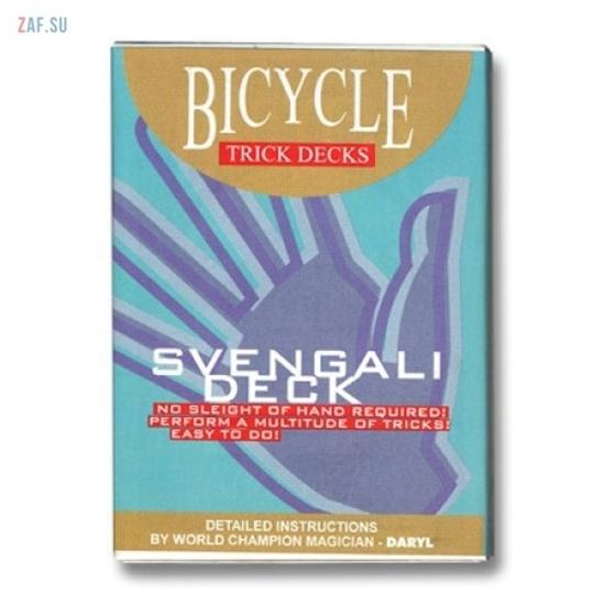 Трюковая колода Bicycle Svengali Deck, колода Свенгали