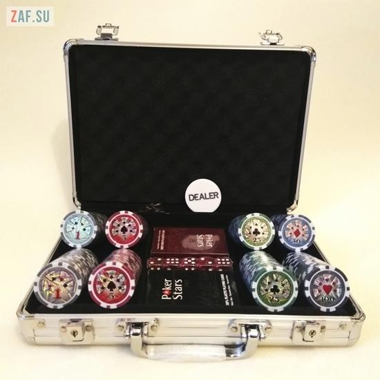 Набор для покера на 200 фишек, 11,5 грамм, 100% пластиковые карты