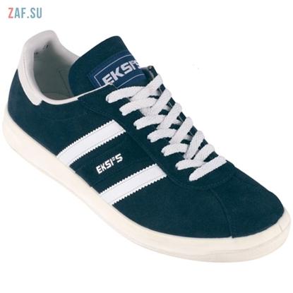 """Кроссовки EKSI'S """"CLASSIC 10"""" синие, замша (EKSIS-10)"""