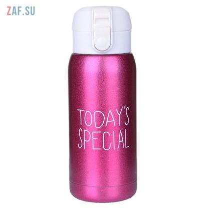 Изображение Термос Today's Special, розовый, 400 мл, арт. HS-6602-04