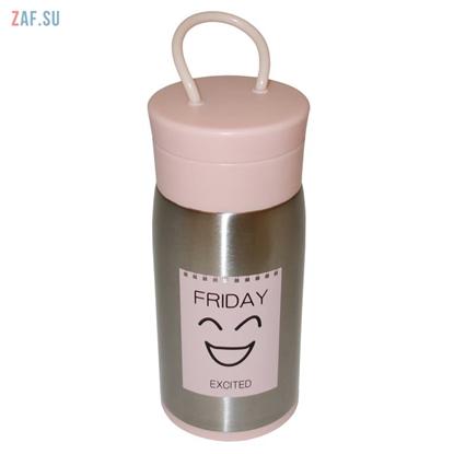 Изображение Термос Friday розовый, 300 мл, арт. LD-5117
