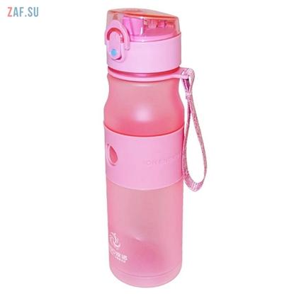 Изображение Пластиковая бутылка Ion Energy розовая, 580 мл, арт. HN-1611